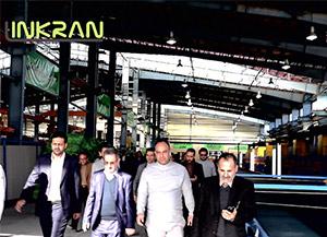 افتتاح بزرگترین خط تولید عایق الاستومری ( لینکران )